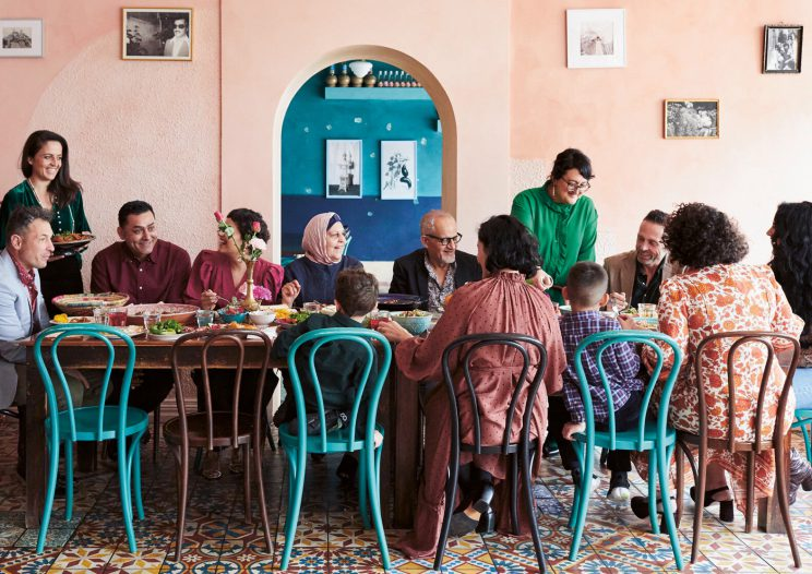 Ayubi Family at Parwana (photo by Alicia Taylor)